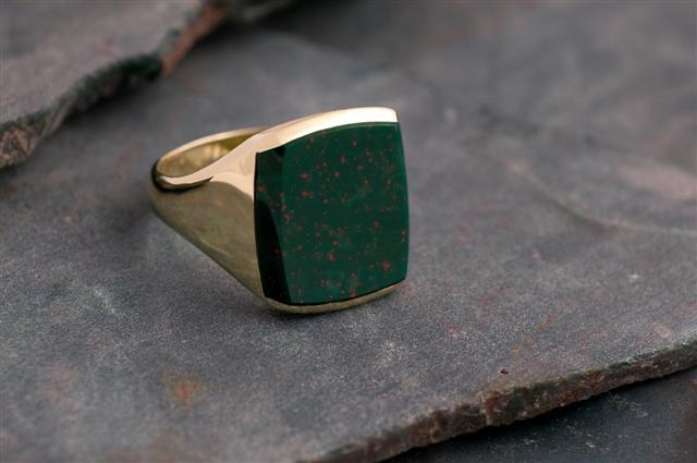 zilveren ringen ketting